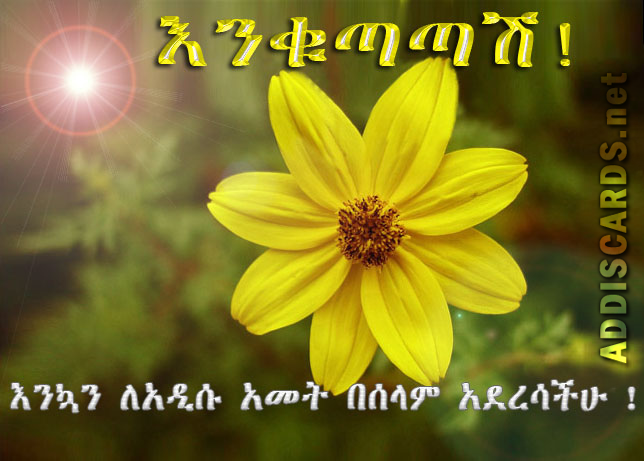 happy new year ethiopian card addiscard net